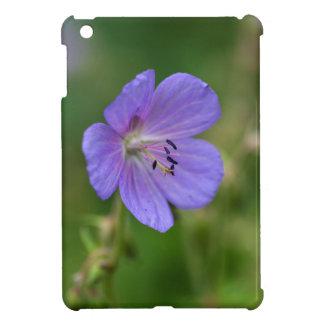 草原のゼラニウムの花 iPad MINIケース