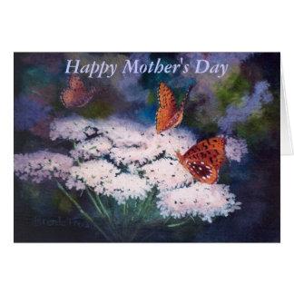 草原の母の日カードの素晴らしさ カード