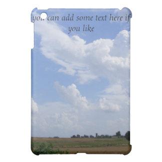 草原の空のiPadの場合 iPad Miniケース