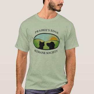 草原の端の慈悲深い社会のボランティアのTシャツ Tシャツ