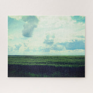草原の美しい日 ジグソーパズル