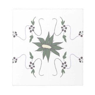 草原の花 ノートパッド
