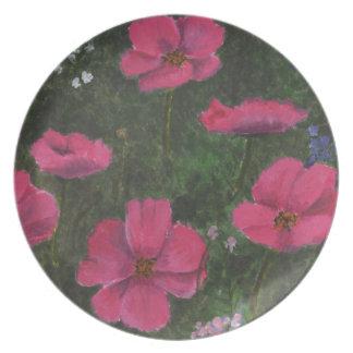 草原の花 プレート
