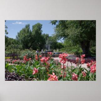 草原の花 ポスター