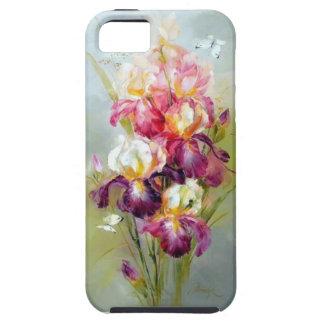 草原の電話箱の花 iPhone SE/5/5s ケース