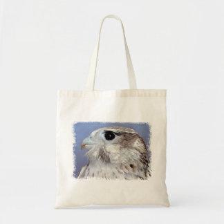 草原の《鳥》ハヤブサ トートバッグ