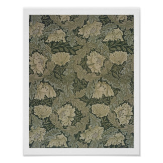 「草原」の壁紙1885年のために設計して下さい ポスター