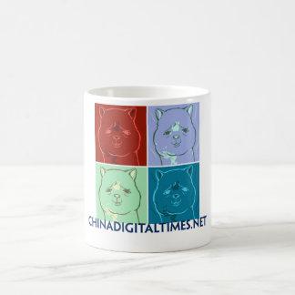 草泥の馬のマグ コーヒーマグカップ