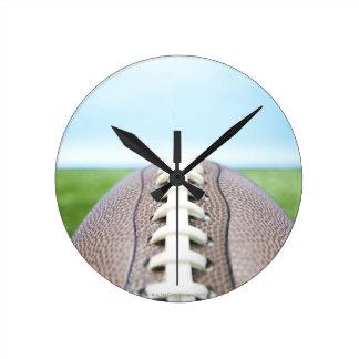 草2のフットボール ラウンド壁時計