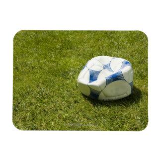 草、ドイツの平らなサッカーボール マグネット