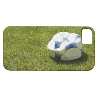 草、ドイツの平らなサッカーボール iPhone SE/5/5s ケース
