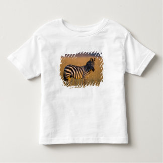 草、マサイ語の平野のシマウマのEquusのクアッガ) トドラーTシャツ