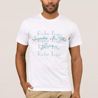 草、レーダートラップのレーダートラップの素晴らしいで…蛇行させて下さい Tシャツ
