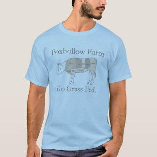 草Fed. T-shirtを食べて下さい Tシャツ