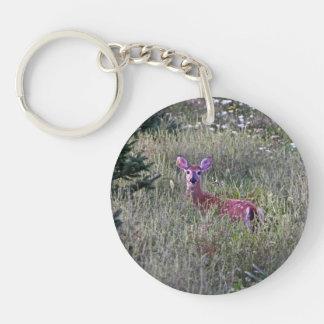 草Keychainの子鹿 キーホルダー