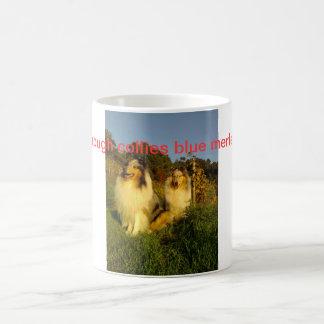 荒いコリーが付いているマグ コーヒーマグカップ