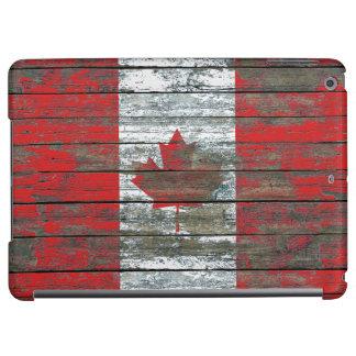 荒い木のカナダの旗は効果に乗ります