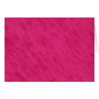 荒く汚いビロードの質: 明るいショッキングピンク カード