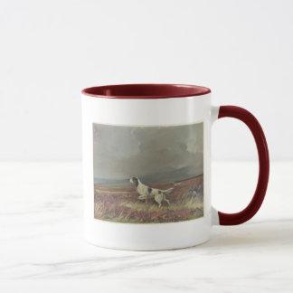 荒れ地の信号器の陶磁器のマグの英国セッター マグカップ