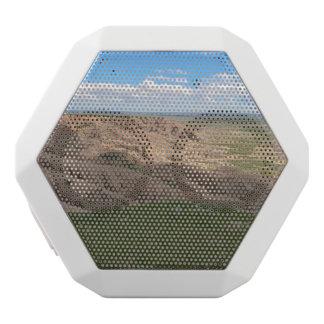荒地のサウスダコタ影およびライト ホワイトBluetoothスピーカー