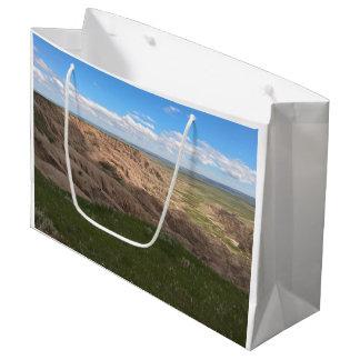 荒地のサウスダコタ影およびライト ラージペーパーバッグ