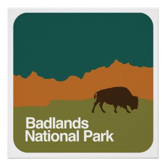 荒地の国立公園 ポスター