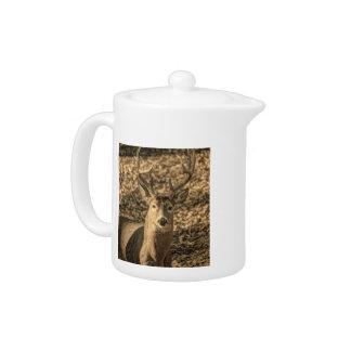 荒野のカムフラージュのoutdoorsmanのオジロ鹿シカ