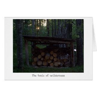 荒野のトニック カード