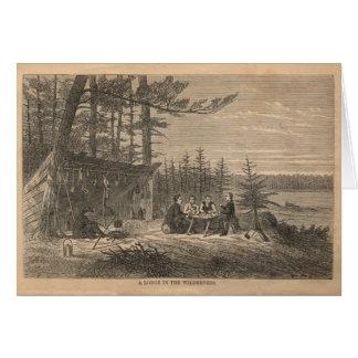 荒野のロッジ カード