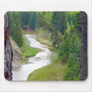 荒野の川 マウスパッド