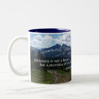 荒野の引用文(Tatooshの範囲) ツートーンマグカップ