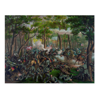 荒野の戦い ポストカード