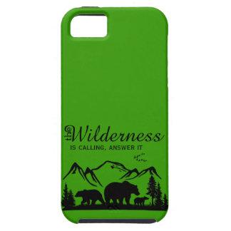 荒野はiPhone 5の場合を呼んでいます iPhone SE/5/5s ケース