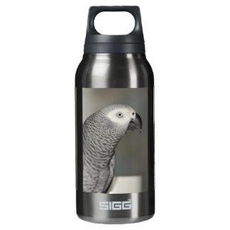 荘厳なアフリカ灰色のオウム 断熱ウォーターボトル