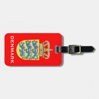 荷物Tageデンマークの紋章付き外衣 ラゲッジタグ