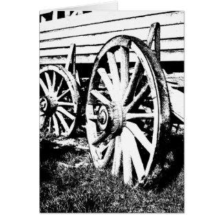 荷馬車の車輪 カード