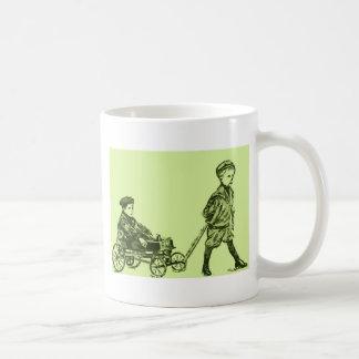荷馬車の車輪 コーヒーマグカップ