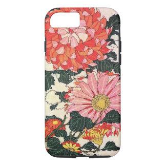 菊およびアブ、Katsushika Hokusai iPhone 8/7ケース