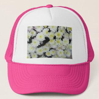 菊の集りの庭白 キャップ
