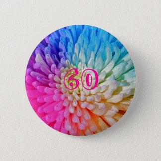 菊人工的な色ボタンのバッジ60 5.7CM 丸型バッジ