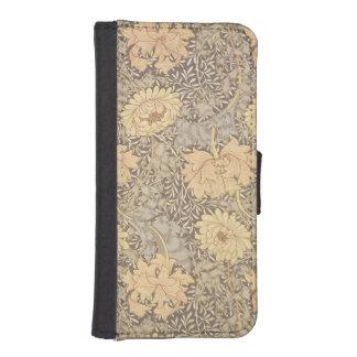 「菊」の壁紙のデザイン1876年 iPhoneSE/5/5sウォレットケース