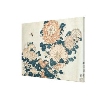 菊 キャンバスプリント