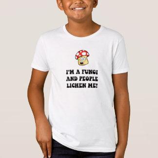 菌類の地衣 Tシャツ