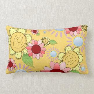 菓子によってはコレクションの枕が開花します-あなたのサイズを選んで下さい ランバークッション