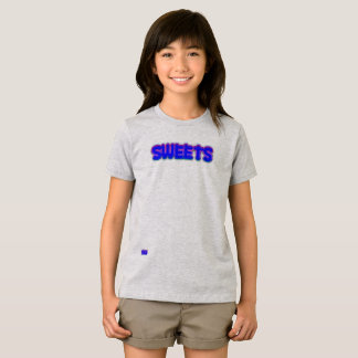 菓子の女の子のTシャツ Tシャツ