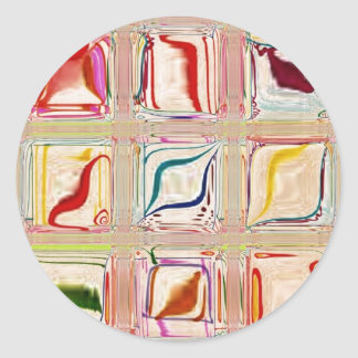 菓子はカスタマイズ可能な~をタイルを張ります ラウンドシール