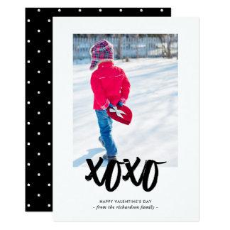 菓子は写真との|のハッピーバレンタインデーに接吻します カード