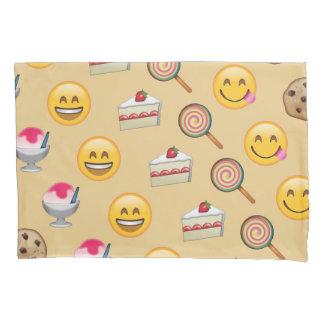 菓子はEmojiパターンを扱います 枕カバー