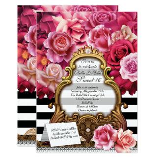 菓子16のキンセアニェラのパーティの招待状 カード