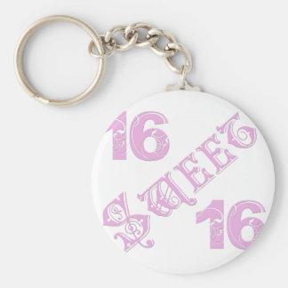 菓子16の誕生日 キーホルダー